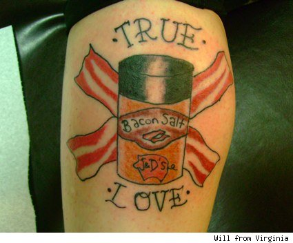 bacon salt tattoo