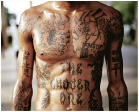 power body tattoo