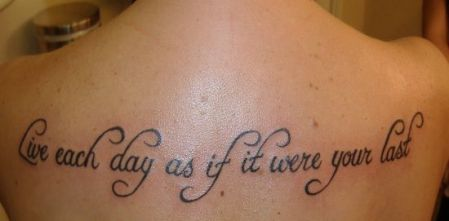 motto tattoo