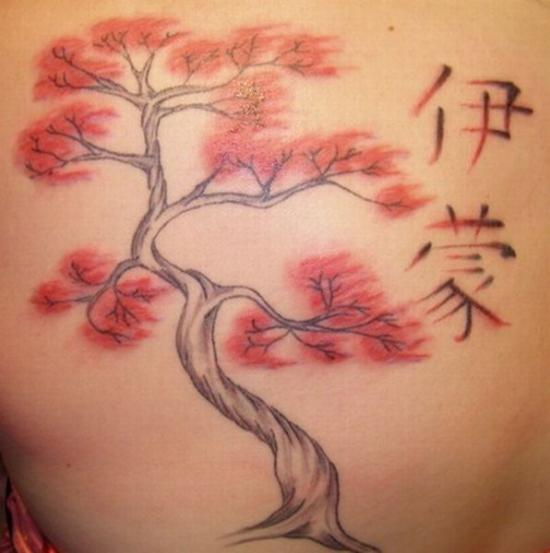 Cherry tree tattoos