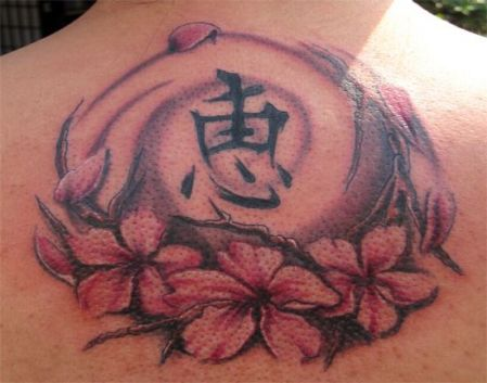 cherry chinese tattoo