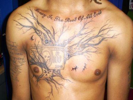 expressive tattoo
