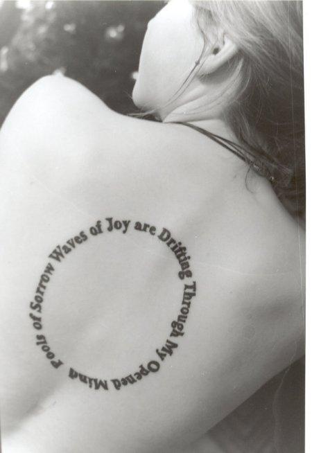 life circle tattoo